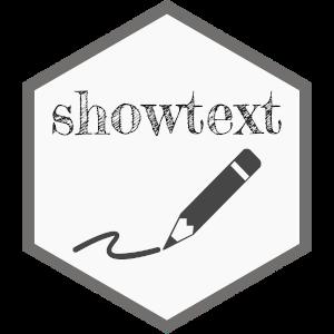 showtext